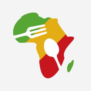 「African Kitchen(アフリカンキッチン)」ロゴマーク