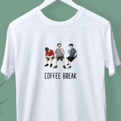 KOSA COFFEE Tシャツデザイン「COFFEE BREAK」