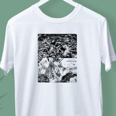 KOSA COFFEE Tシャツデザイン「unlimited energy.」